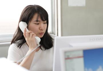 電話対応・来客対応